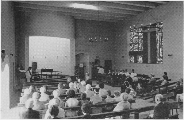 St Saviour Church Morning Worship 1970