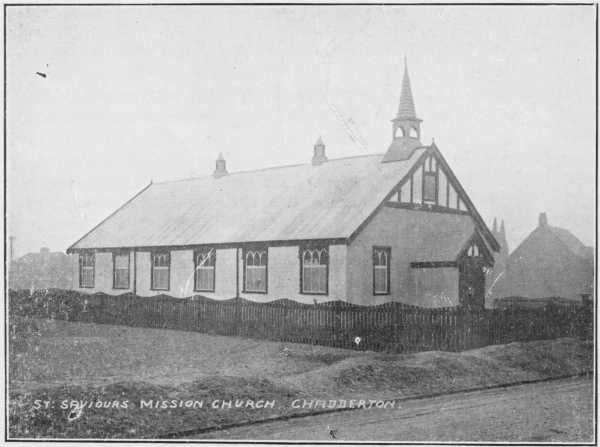 St Saviour Mission Church 1910-62